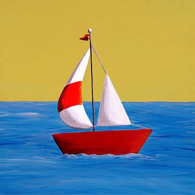 Lil Sailboat Poster