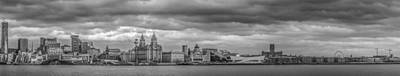Liverpool Waterfront Panorama Poster
