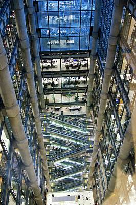 Lloyds Of London Interior Poster by Mark Williamson