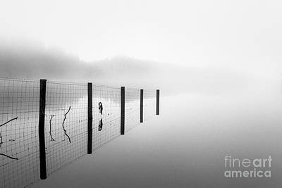 Loch Ard Early Mist Poster by John Farnan