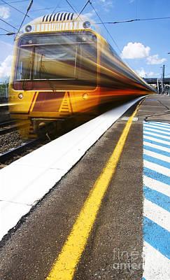 Loco Motion Train Poster
