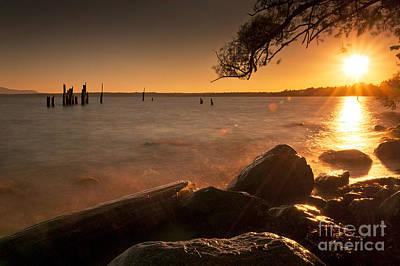 Locust Beach Sunset Poster