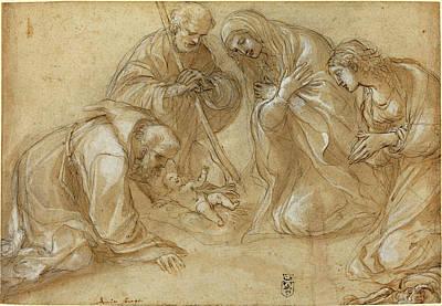 Lodovico Carracci Italian, 1555 - 1619 Poster