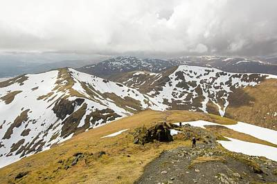 Looking Towards Beinn Ghlas Poster