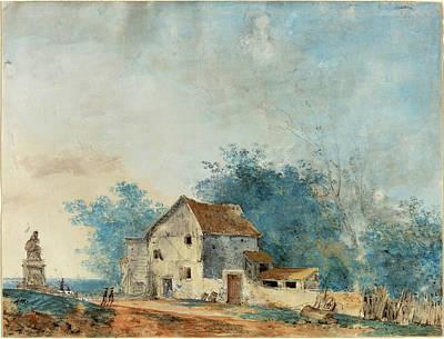 Louis Gabriel Moreau French, 1739 - 1806 Poster by Quint Lox