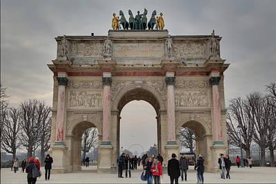 Louvre - Paris France - 011311 Poster