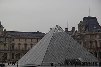 Louvre - Paris France - 01133 Poster by DC Photographer