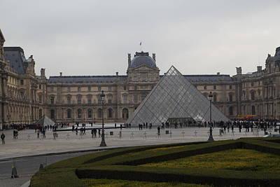 Louvre - Paris France - 01137 Poster by DC Photographer