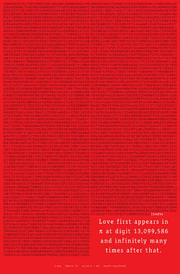 Love In Pi Poster