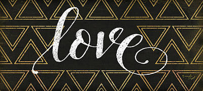Love Poster by Jennifer Pugh