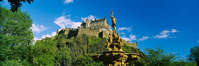 Low Angle View Of A Castle, Edinburgh Poster by Panoramic Images