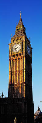 Low Angle View Of A Clock Tower, Big Poster by Panoramic Images