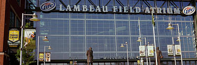 Low Angle View Of A Stadium, Lambeau Poster by Panoramic Images