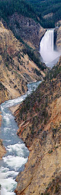 Lower Falls At Grand Canyon Poster