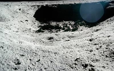 Lunar Landscape Poster