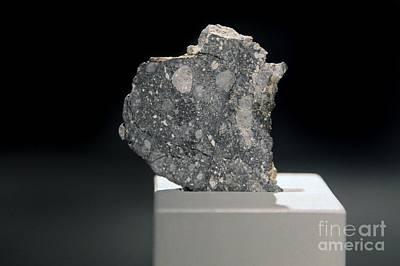 Lunar Meteorite Poster by Detlev van Ravenswaay