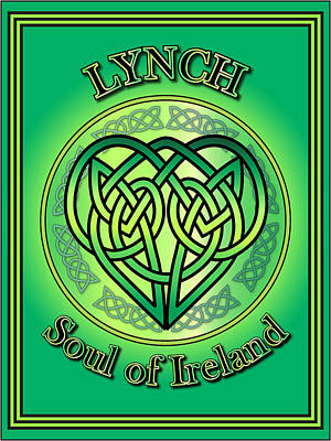 Lynch Soul Of Ireland Poster