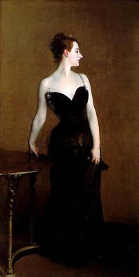 Madame X Poster by John Singer Sargent