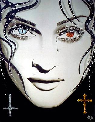 Madonna Poster by Alicia Hayes