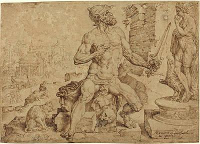 Maerten Van Heemskerck Netherlandish, 1498-1574 Poster by Litz Collection