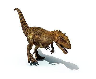Majungasaurus Dinosaur Poster by Mikkel Juul Jensen