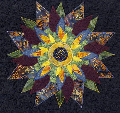 Mandala No 2 Sunflower Poster by Lynda K Boardman