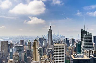 Manhattan View  Poster