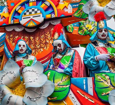 Mardi Gras Float 2 Poster by Steve Harrington
