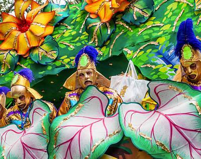 Mardi Gras Float Poster by Steve Harrington