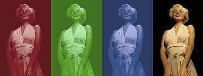 Marilyn Monroe Poster by Gina Dsgn