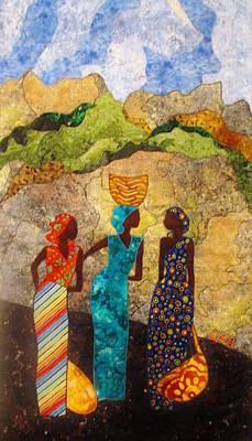 Market Day Ladies Poster