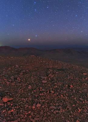 Mars In Opposition Poster