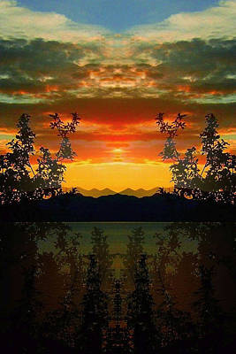 Poster featuring the photograph Marsh Lake - Yukon by Juergen Weiss