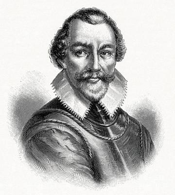 Martin Frobisher, English Explorer Poster