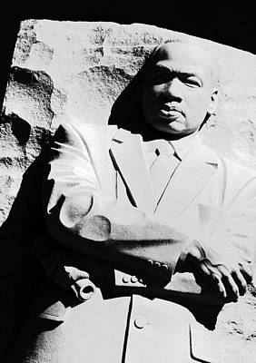 Poster featuring the photograph Martin Luther King Memorial by Cora Wandel