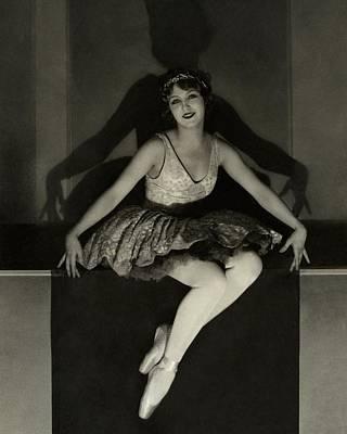 Mary Eaton Wearing A Tutu Poster by Edward Steichen