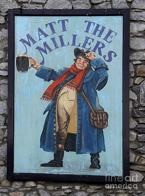 Matt The Millers Poster by Christiane Schulze Art And Photography