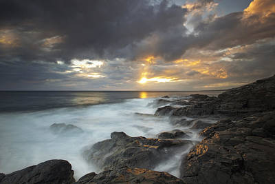 Maui Seascape Poster by James Roemmling