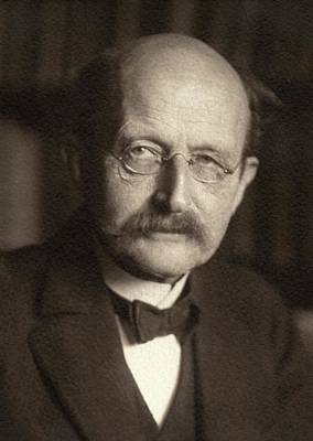 Max Planck Poster by American Philosophical Society