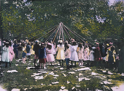 Maypole Dance, 1905 Poster by Granger