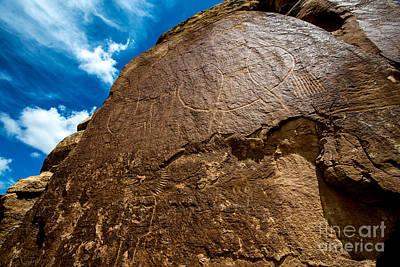 Mcconkie Ranch Petroglyph - Utah  Poster by Gary Whitton