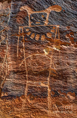 Mckee Springs Petroglyph - Utah Poster by Gary Whitton