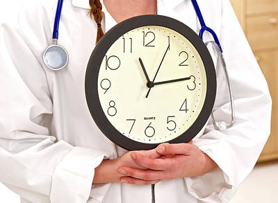 Medical Time Poster by Lea Paterson
