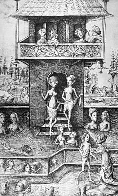 Medieval Bathhouse Poster