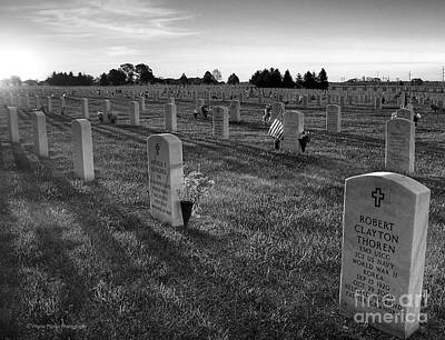 Memorial Day Fort Snelling National Cemetery Poster