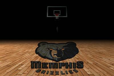 Memphis Grizzlies Poster by Joe Hamilton