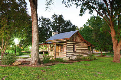 Merriman Cabin Historic Structure Poster by Larry Ditto