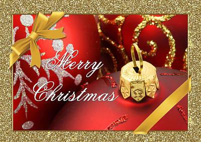 Merry Christmas Card Poster by Blair Wainman