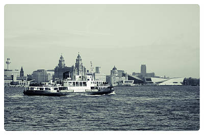 Mersey Ferry Poster by Spikey Mouse Photography
