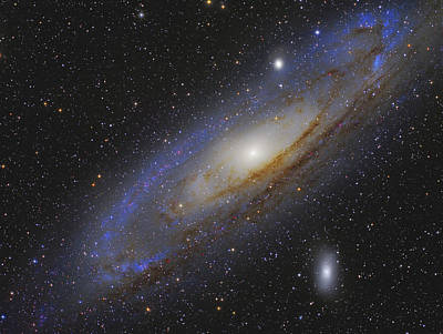 Messier 31, The Andromeda Galaxy Poster by Roberto Colombari